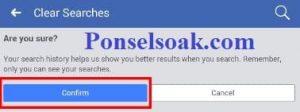 Menghapus Riwayat Pencarian Facebook Melalui Android 6