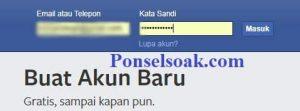 Menghapus Riwayat Pencarian Facebook Melalui PC 1