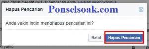 Menghapus Riwayat Pencarian Facebook Melalui PC 4