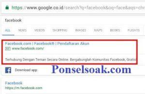 Menghapus Riwayat Pencarian Facebook Melalui Web 1