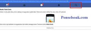 Menghapus Riwayat Pencarian Facebook Melalui Web 2