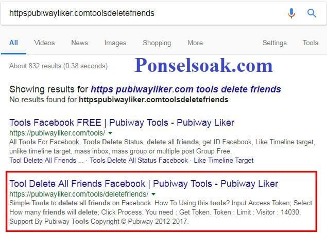 2+ Cara Menghapus Semua Teman Di Facebook