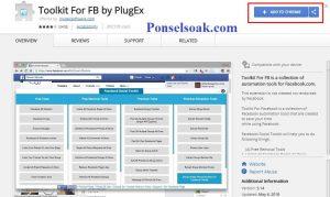 Menghapus Teman Facebook Menggunakan Toolkit For FB 2