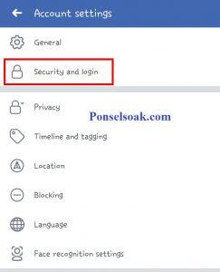 Mengubah Password Facebook Melalui Aplikasi Android 6