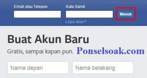Mengubah Password Facebook Melalui PC 3