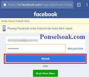 Menonaktifkan Akun Facebook Melalui Web 3