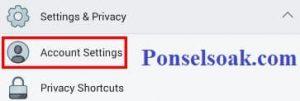 Menutup Akun Facebook Sementara Melalui Android 5
