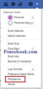 Menutup Akun Facebook Sementara Melalui Web 4
