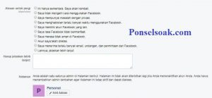 Menutup Akun Facebook Sementara Melalui Web 7