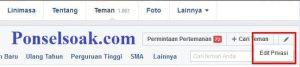 Menyembunyikan Daftar Teman Di Facebook Melalui Web 3