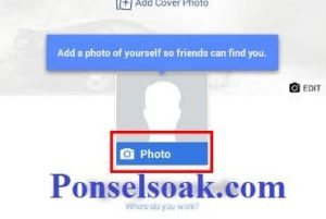 Upload Dan Hapus Foto Profil Facebook Melalui Android 5