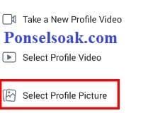 Upload Dan Hapus Foto Profil Facebook Melalui Android 6