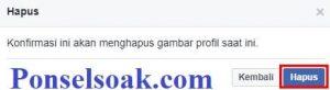 Upload Dan Hapus Foto Profil Facebook Melalui PC 11