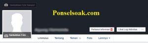 Upload Dan Hapus Foto Profil Facebook Melalui PC 12