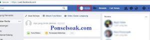 Upload Dan Hapus Foto Profil Facebook Melalui PC 3