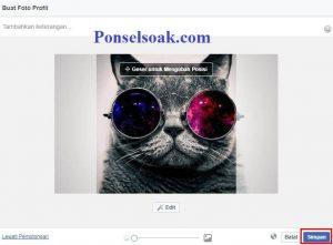 Upload Dan Hapus Foto Profil Facebook Melalui PC 7