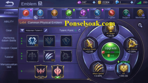 Build Emblem Bruno Mobile Legends 1