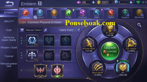 Build Emblem Chou Mobile Legends 1