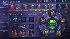 Build Emblem Chou Mobile Legends 2