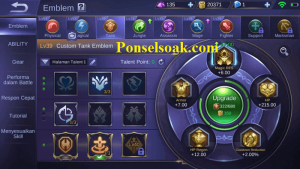 Build Emblem Chou Mobile Legends 3