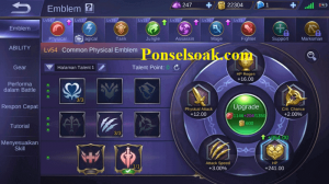 Build Emblem Hayabusa Mobile Legends 1