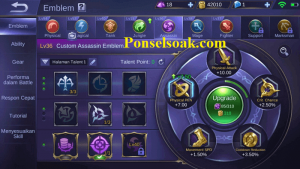 Build Emblem Lancelot Mobile Legends 2