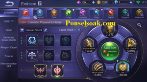 Build Emblem Minotaur Mobile Legends 1