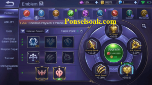 Build Emblem Tigreal Mobile Legends 1