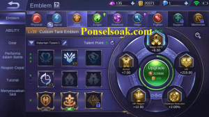 Build Emblem Tigreal Mobile Legends 2