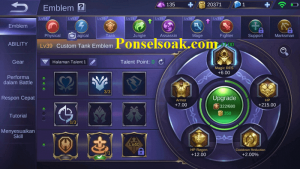 Build Emblem Uranus Mobile Legends 2