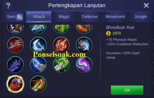 Build Gear Alpha Mobile Legends 2