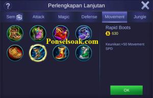 Build Gear Chou Mobile Legends 1