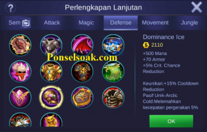 Build Gear Chou Mobile Legends 3