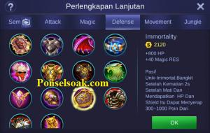 Build Gear Chou Mobile Legends 5