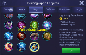 Build Gear Cyclops Mobile Legends 2