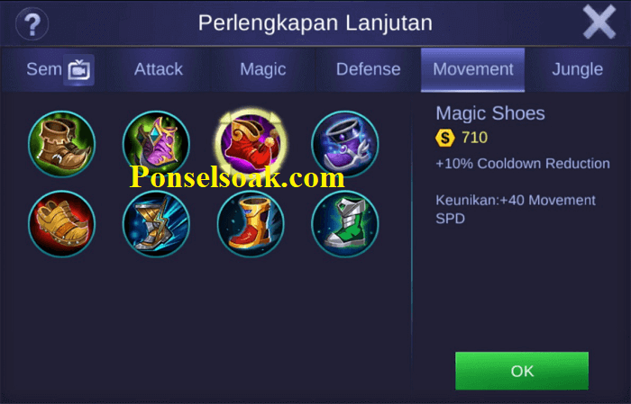 Build Gear Diggie Mobile Legends 1