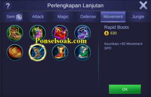 Build Gear Gusion Mobile Legends 1