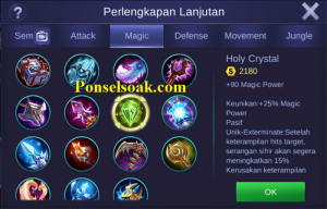 Build Gear Gusion Mobile Legends 5