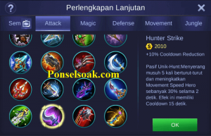 Build Gear Hayabusa Mobile Legends 3
