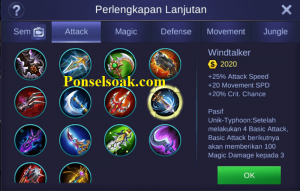 Mau tau build item gear Hero Helcurt Mobile Legends Tersakit Build Helcurt Mobile Legends Tersakit