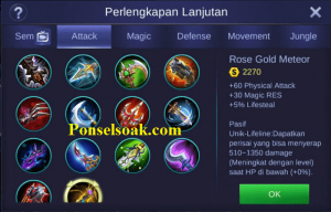Build Gear Lancelot Mobile Legends 4