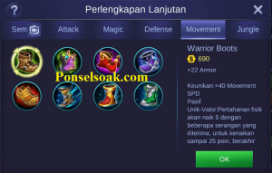 Build Gear Minotaur Mobile Legends 1
