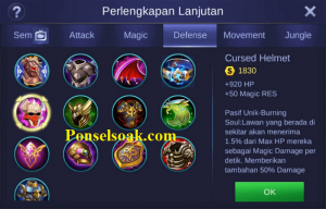 Build Gear Minotaur Mobile Legends 2