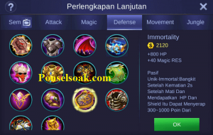 Build Gear Minotaur Mobile Legends 4