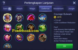 Build Gear Minotaur Mobile Legends 5