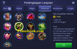 Build Gear Minotaur Mobile Legends 6