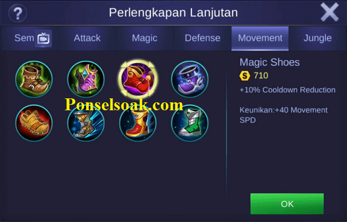 Build Gear Nana Mobile Legends 1