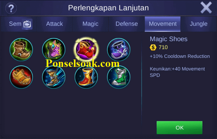 Build Rafaela Mobile Legends Tersakit