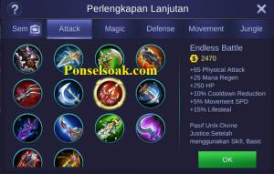 Mau tau build item gear Hero Roger Mobile Legends Tersakit Build Roger Mobile Legends Tersakit