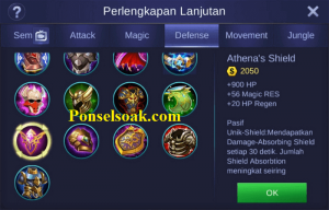 Build Gear Tigreal Mobile Legends 3